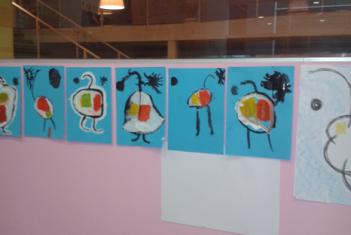 A Arte vista pelas crianças